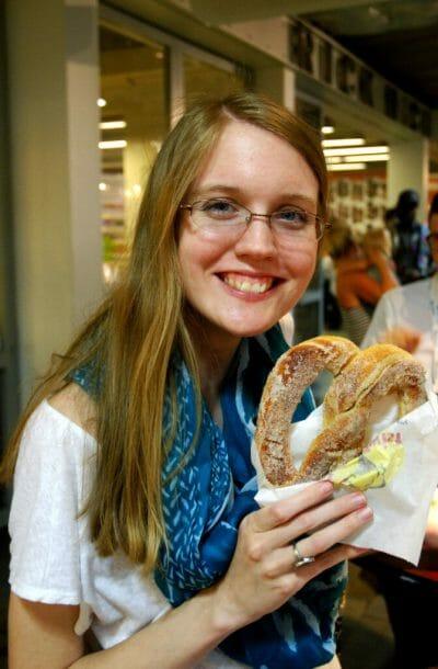 Reading Terminal Market pretzels