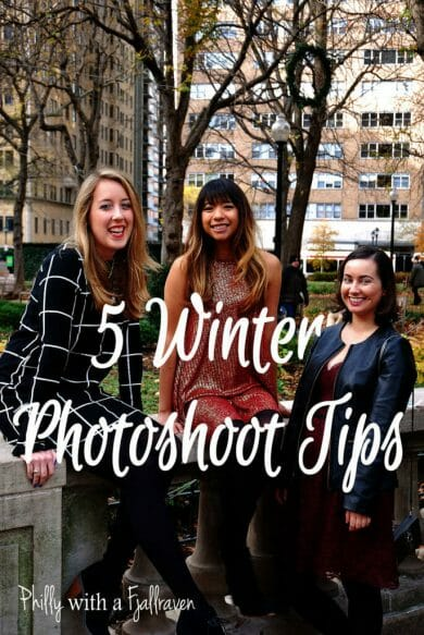 tips for a winter photoshoot