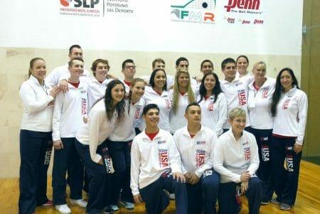 USA junior racquetball team