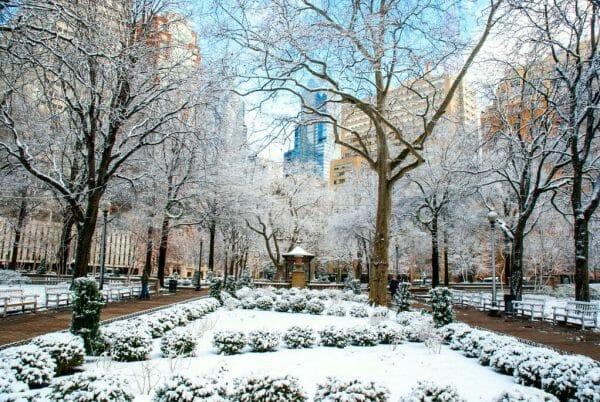 winter in Philadelphia