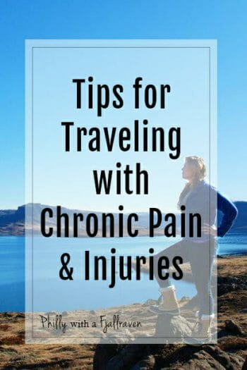 tips for traveling with injuries