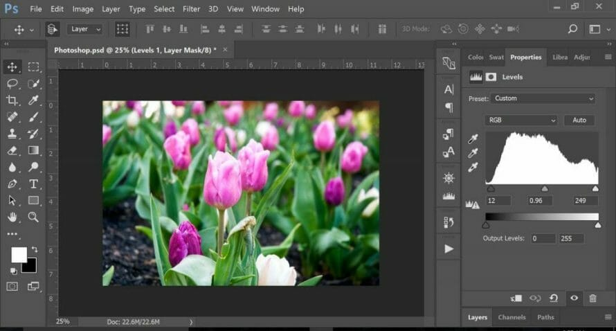 Easy Photoshop tools