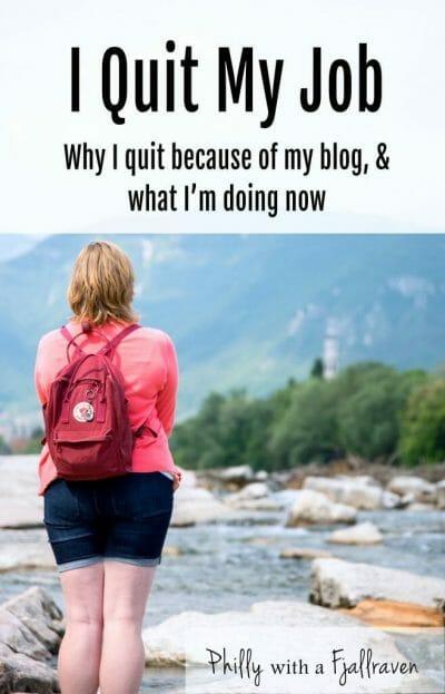 Quit my job to blog