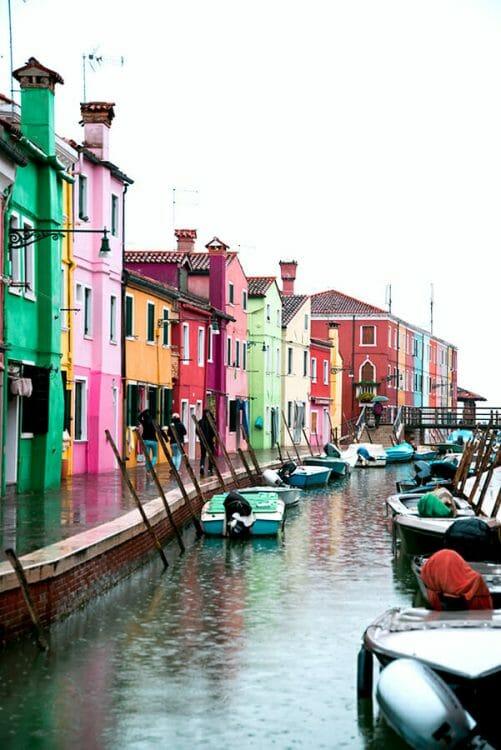 Burano Island canal