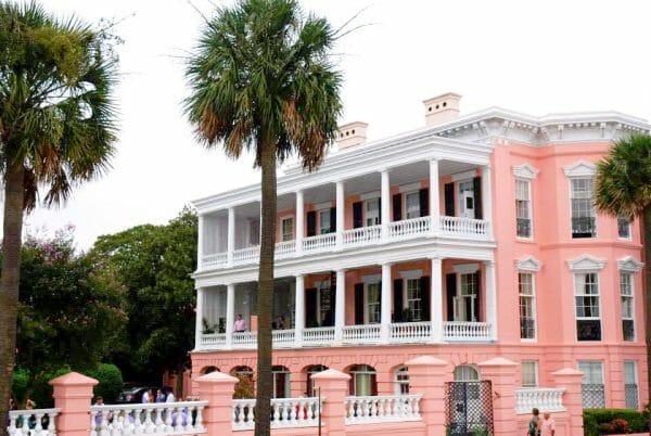 Pink house in Charleston