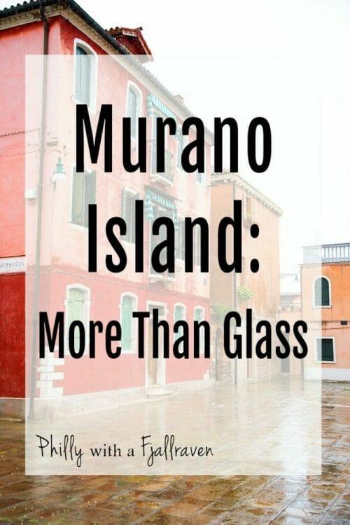 Tour of Murano Island