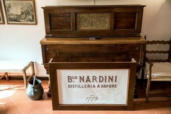 Nardini grappa distillery