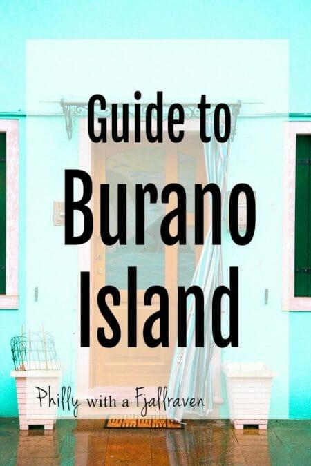 Guide to Burano Island