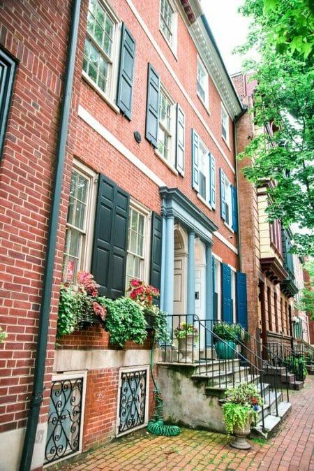 Old City Philadelphia homes