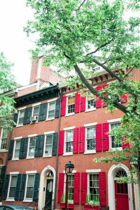 Old City Philadelphia houses