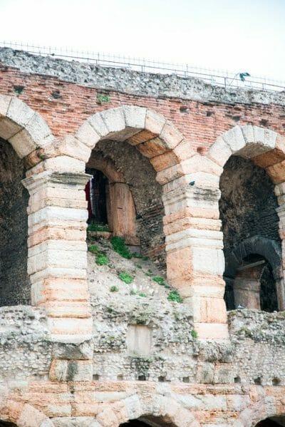 Verona, Italy coliseum