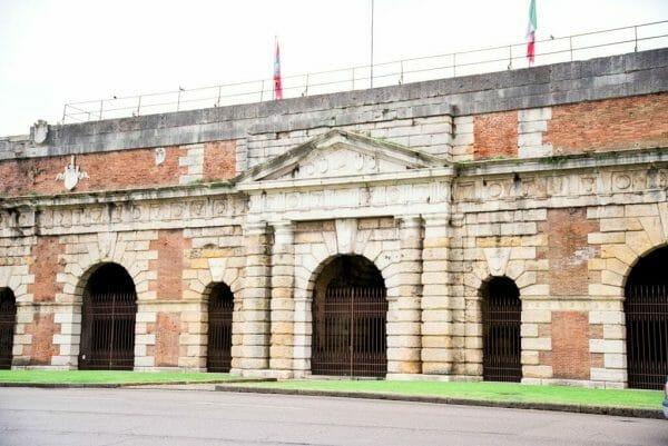 Verona, Italy city walls
