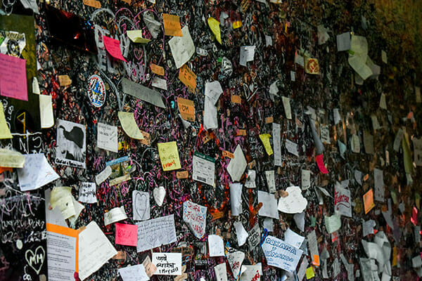 Verona letters to Juliet tunnel
