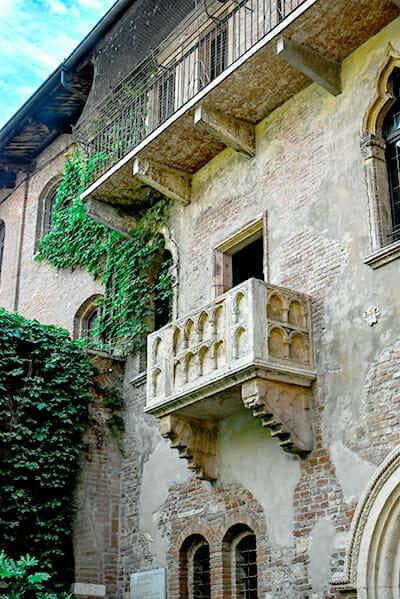 Verona Juliet balcony