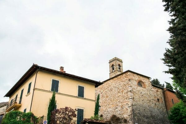 Montefioralle in Tuscany