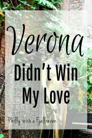 Verona Didn't Win My Love