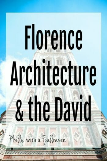 Florence Architecture & the David