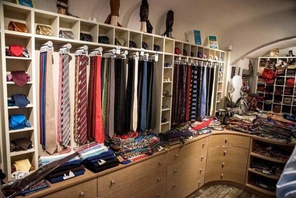 Florence silk ties
