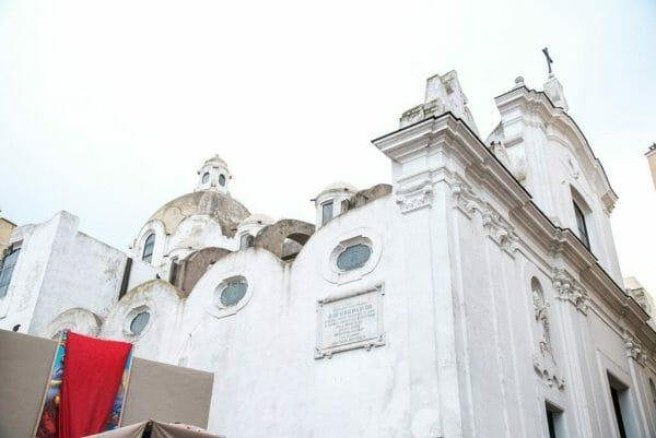 Church on Capri