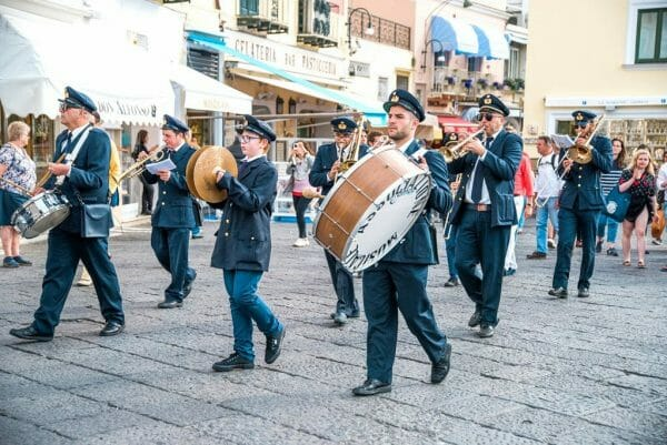 Capri marching band