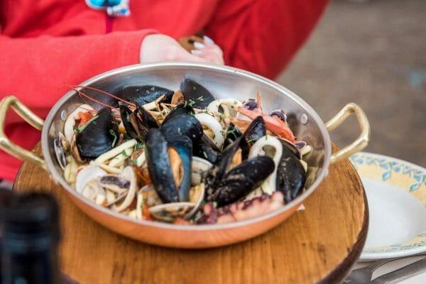 Seafood on Capri
