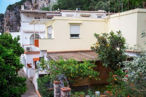 Houses on Capri