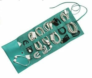 Travel cord holder