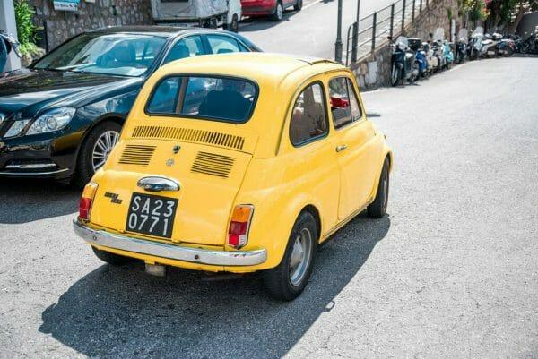 Car in Praiano