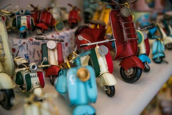 Gift shop in Amalfi