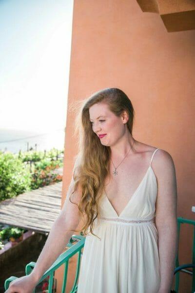 Bridal photoshoot on the Amalfi Coast