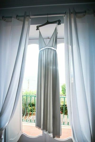 Amalfi Coast wedding dress