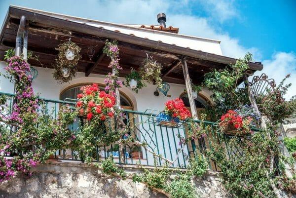 Praiano, Italy house