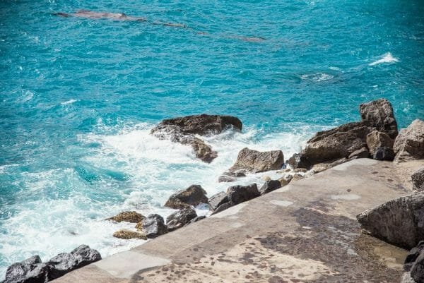 Beach in Praiano, Italy