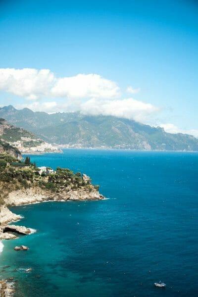 Amalfi Coast cliffs