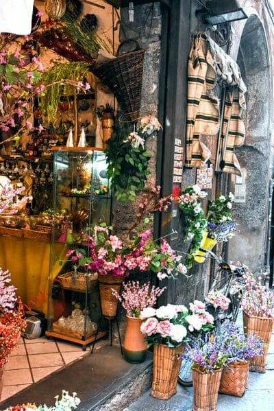 Street in Naples