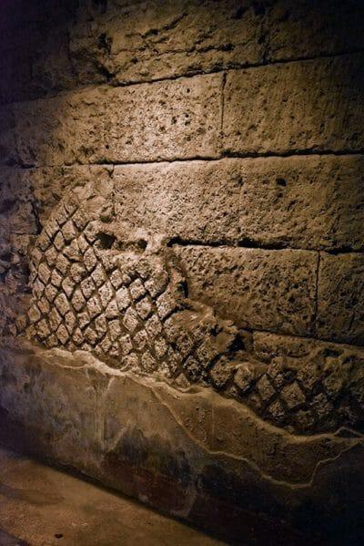Roman city excavation