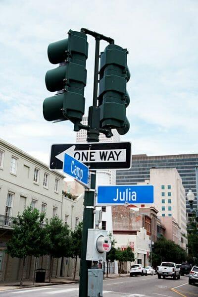New Orleans Julia Street