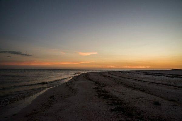 Sunset on a Florida beach