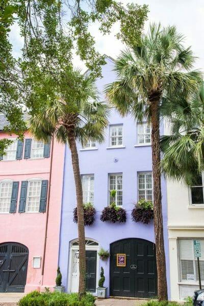 Purple house in Charleston