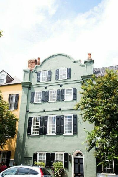 Green house in Charleston