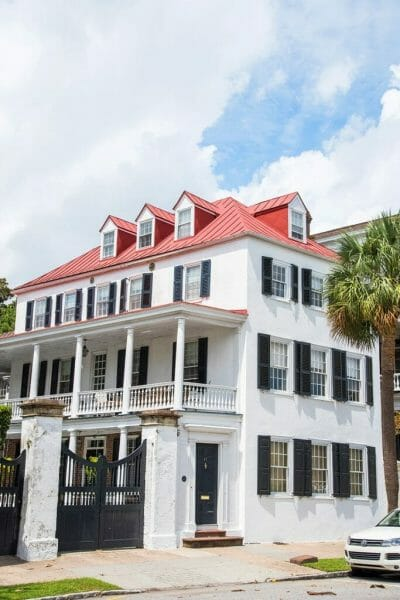 Historic houses in Charleston