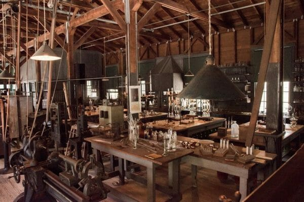 Edison lab in Fort Myers