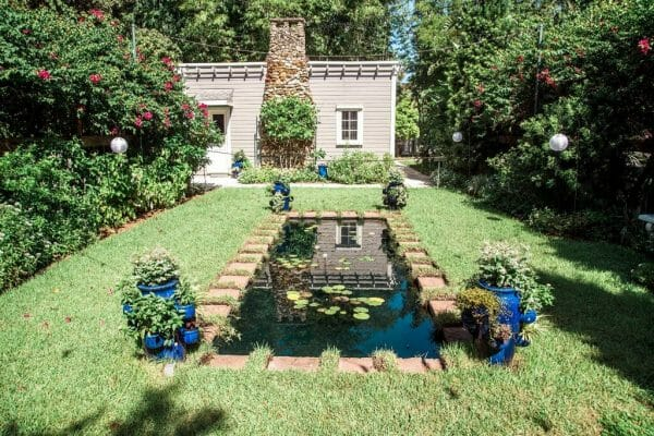 Ford and Edison Estates moonlight garden in Fort Myers