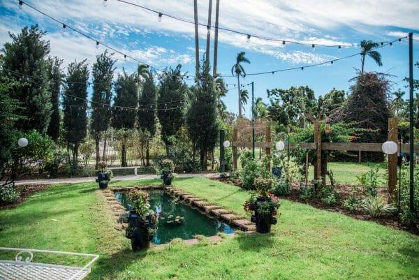Edison & Ford Winter Estates moonlight garden