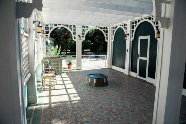 Historic pool house