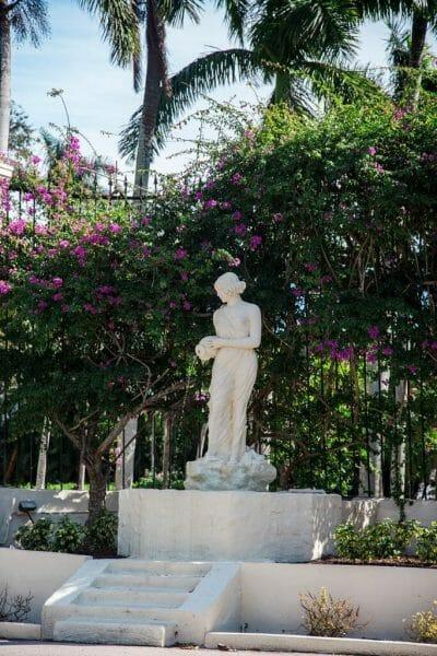 Goddess statue in Florida