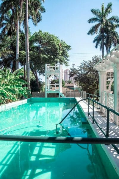 Ford and Edison Estates pool in Fort Myers