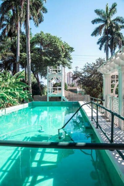 Historic pool in Florida