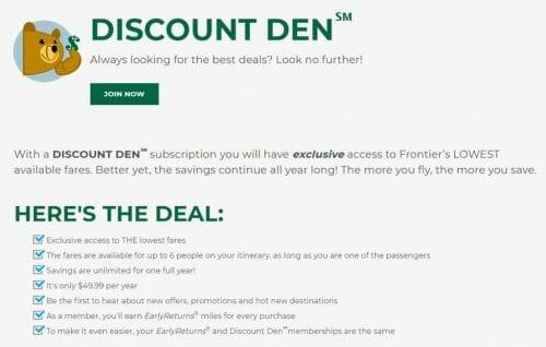 Frontier Discount Den