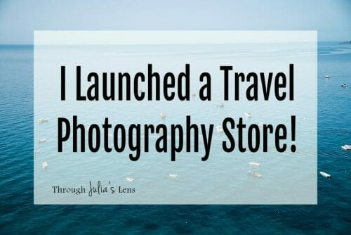 I Launched a Travel Photography Store!